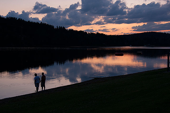 Frymburk, Lake Lipno Sunset