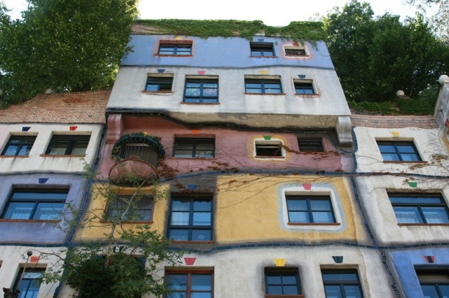 Vienna, Hundertwasser House