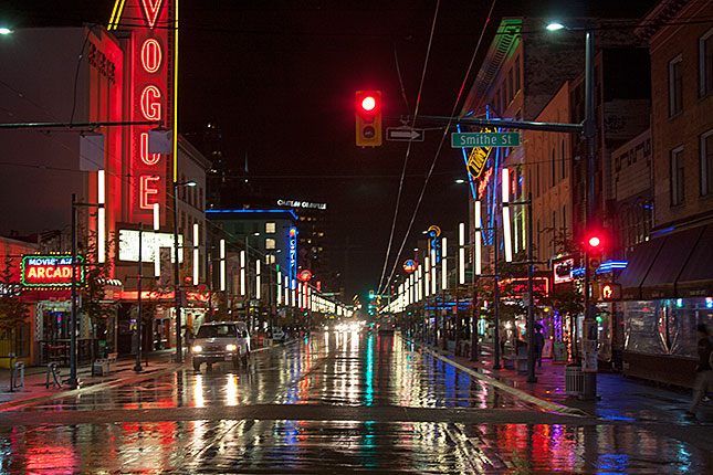 Vancouver, Granville Street