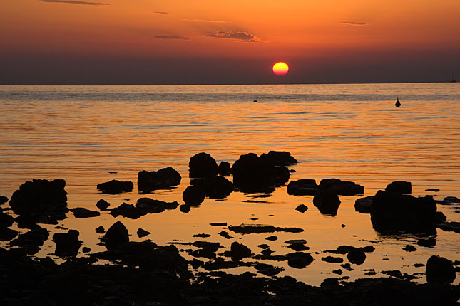 Umag, Adriatic Sunset