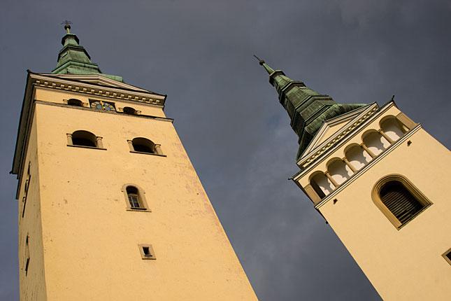 Zilina, Holy Trinity Towers