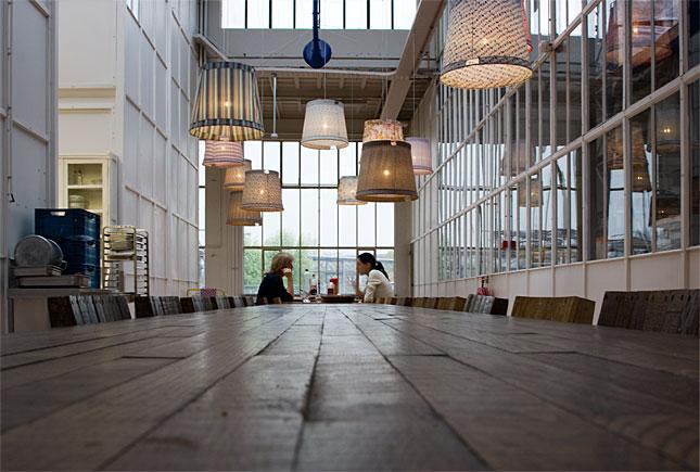 Eindhoven, Piet Hein Eek Restaurant
