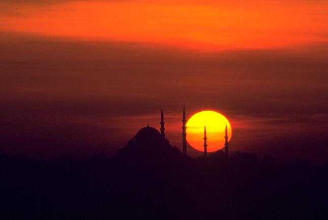 Istanbul, Bosphorus Sunset