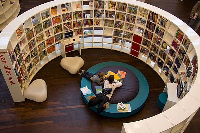 Amsterdam, Library