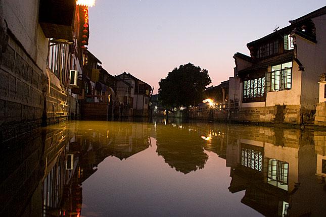 Zhujiajiao, Canal