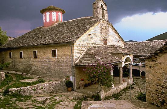 Ano Pedina, Monastery