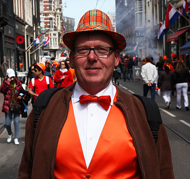 Amsterdam, Queen's Day