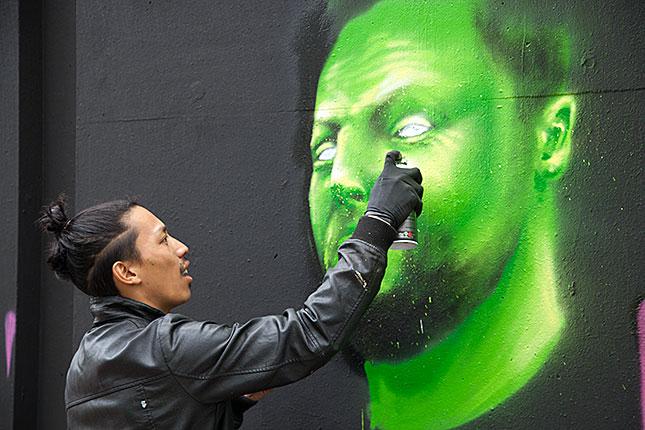 Eindhoven, Graffiti Event