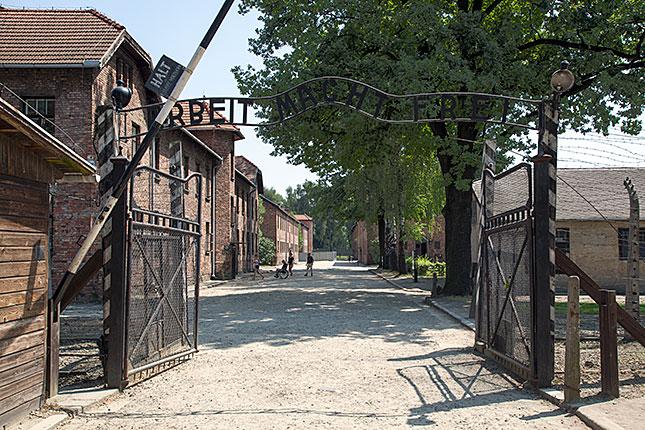 Oswiecim, Auschwitz Gate