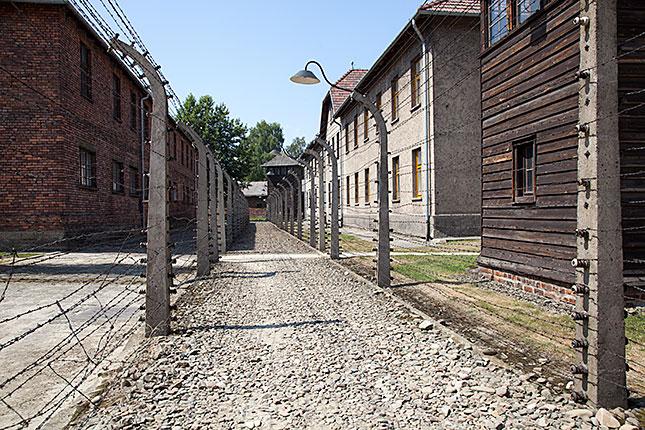 Oswiecim, Auschwitz fences