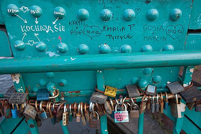 Wroclaw, Love Bridge