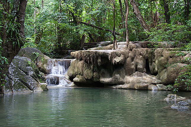 Erawan, Waterfall