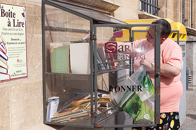 Sarlat, Books to share
