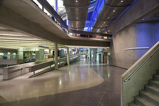 Leipzig, BMW Plant interior