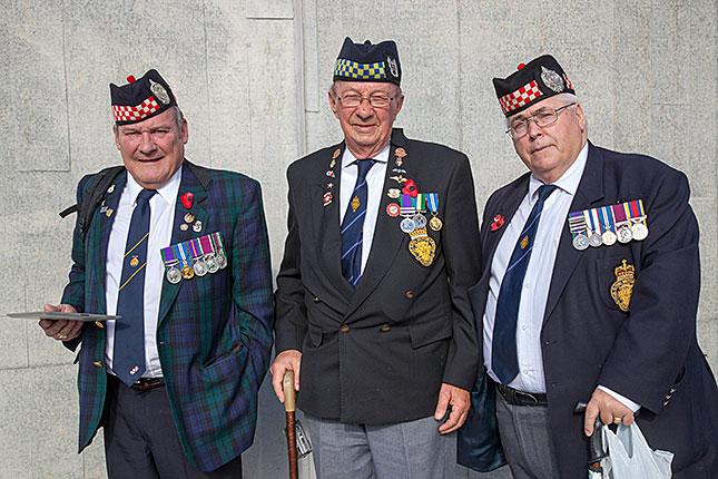 Tyne Cott, Veterans