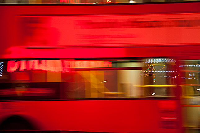 London, Red Bus