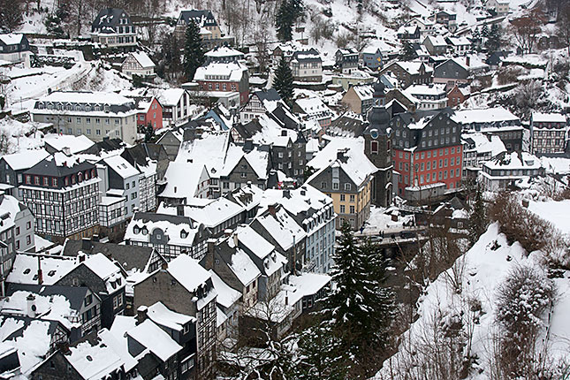 Monschau, Winter