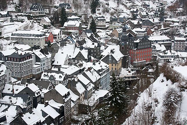 Monschau, Winter