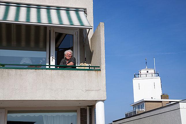 Katwijk aan Zee, Balcony