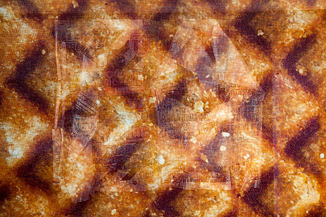 Gouda, Syrup Waffle