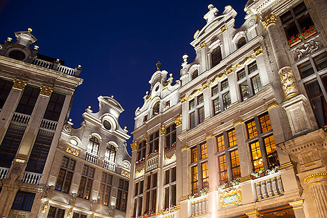Brussels, Grand Place at Night 1