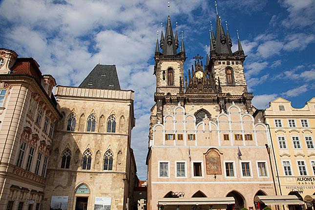 Prague, Tynkerk