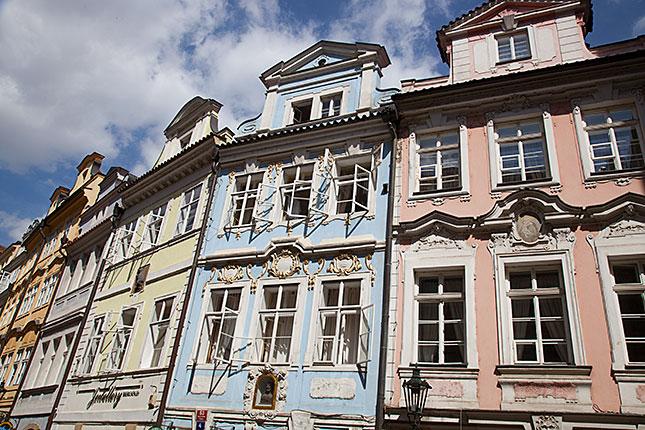 Prague, Mostecka