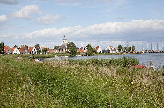 Durgerdam, Waterfront