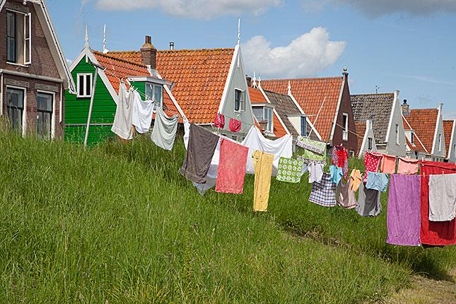 Durgerdam, Laundry