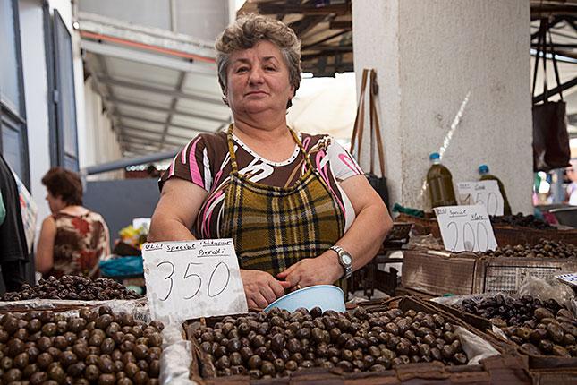 Körca, Market 1