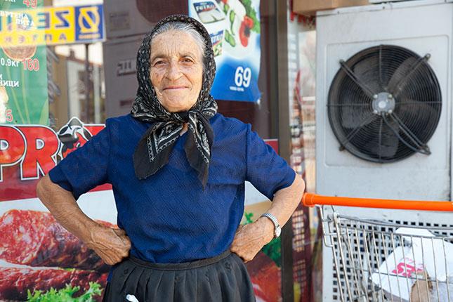 Ohrid, At the Market