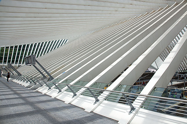 Liège, Guillemins Train Station 1