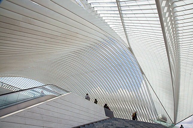 Liège, Guillemins Train Station 2