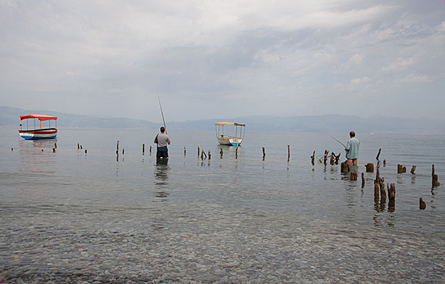 Pestany, Lake Ohrid