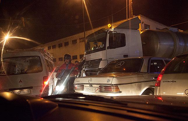 Fes, Traffic Jam