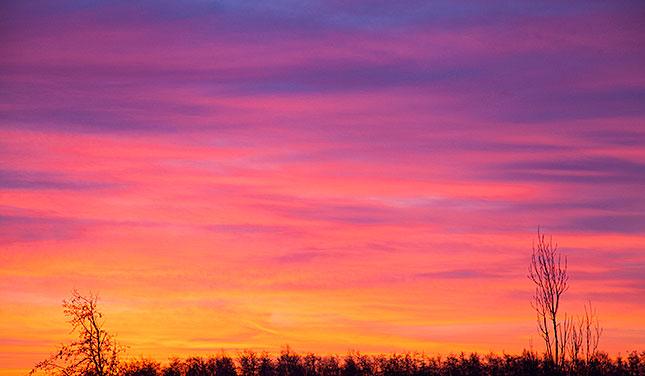 Soest, Winter Sunrise