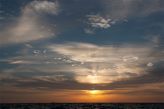Andaman Sea Sunset