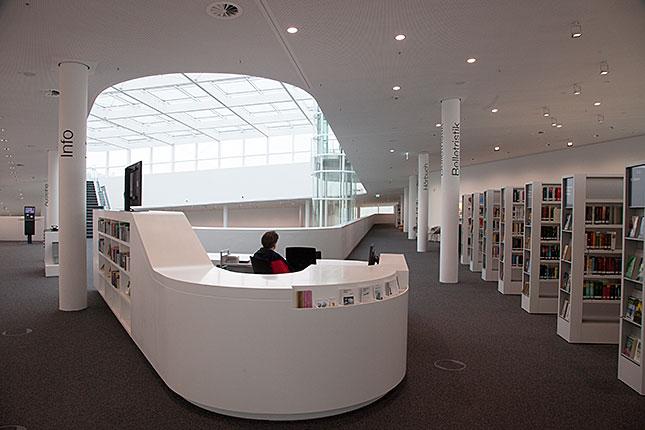 Koblenz, Library 2