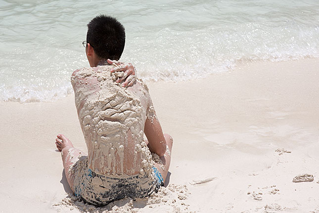 Koh Phi Phi Le, Sand