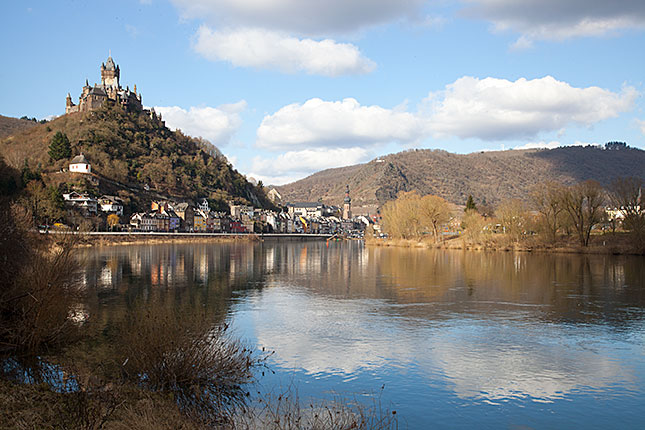 Cochem, Mosel view