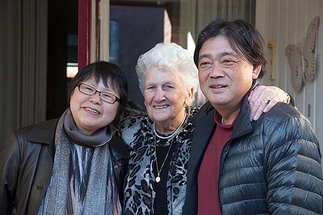 Wijk bij Duurstede, A Visit from Japan