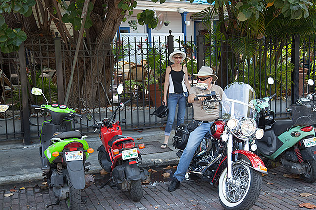 Key West, Motorcycle