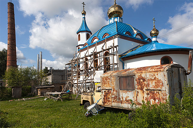 Iecava, Russian Church