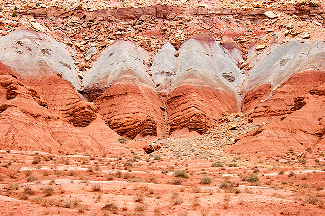 Capitol Reef, Slickrock Layers
