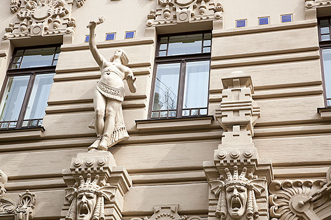 Riga, Alberta Iela