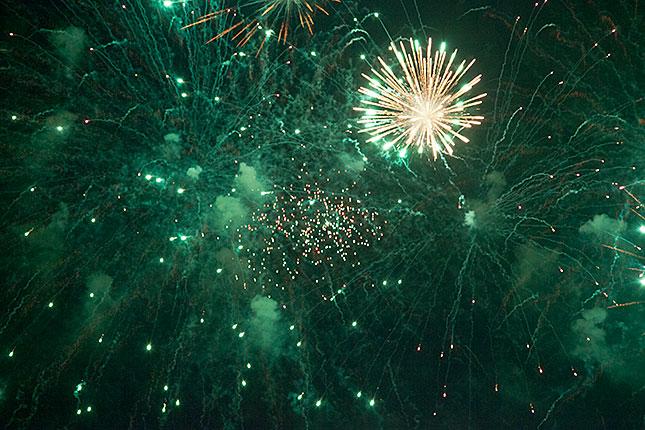 Scheveningen, Fireworks