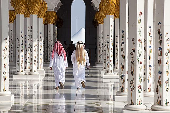 Abu Dhabi, Sheikh Zayed Mosque 2
