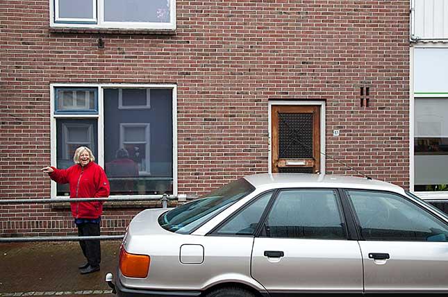 Winsum, Hoofdstraat Obergum