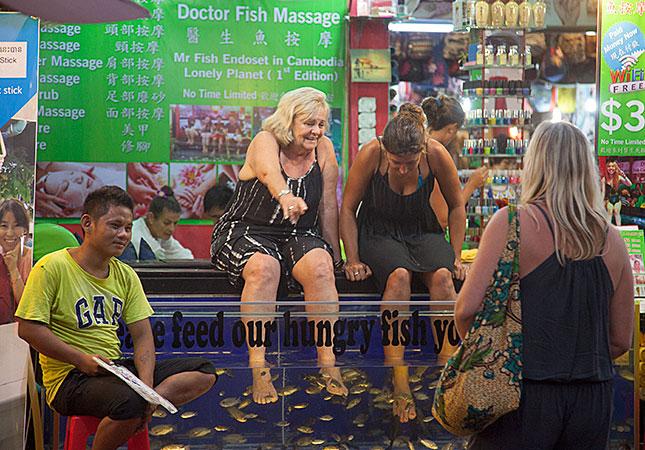 Siem Reap, Dr. Fish