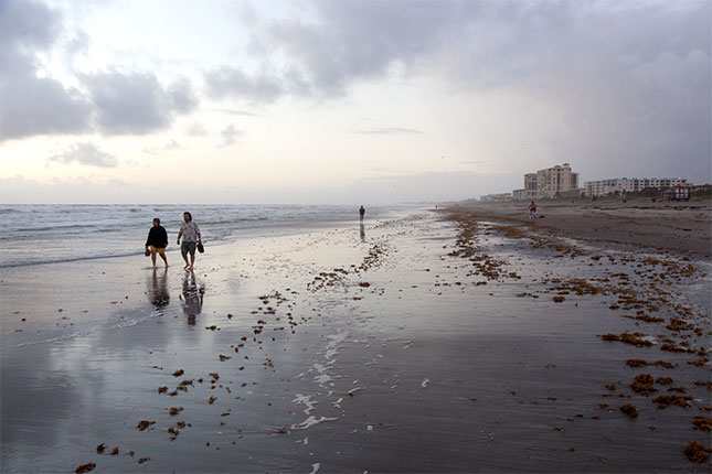 Cocoa Beach, Beach Walk 1